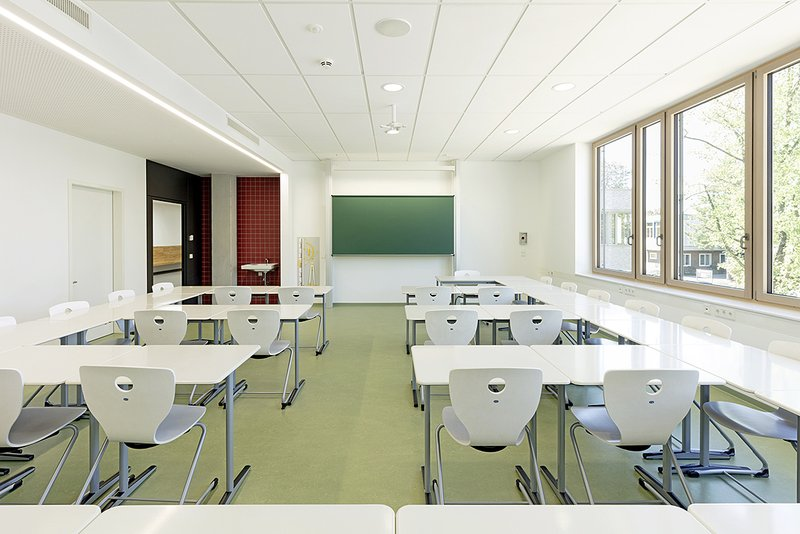 Neubau Louise-Otto_Peter-Schule Hockenheim