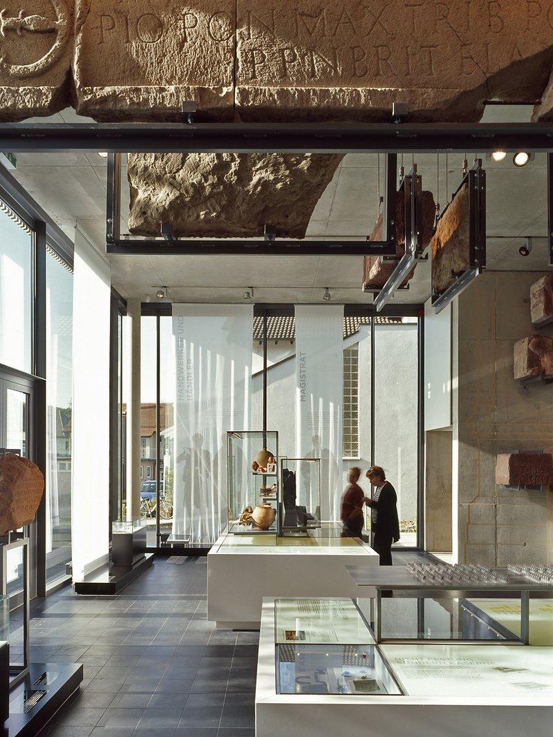 Projekt:Römermuseum, Osterburken Architekten: Auer und Weber