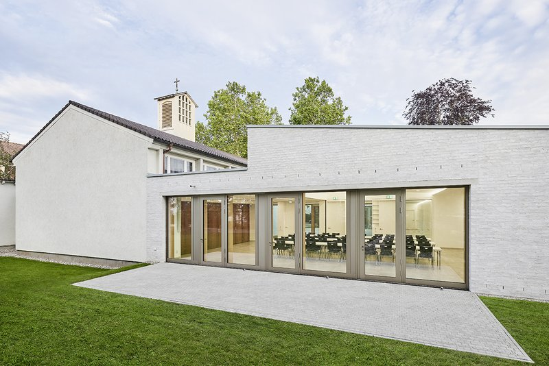 Neubau, Gemeindehaus für die Evangelische Johanneskirche in Weil am RheinTHOMA. LAY. BUCHLER. ARCHITEKTEN BDAAnsprechpartnerin: Frau Kieferle
