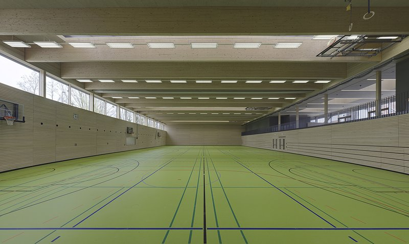 Sporthalle FN-Kluftern Planung Jauss&Gaupp Architekten April 2016