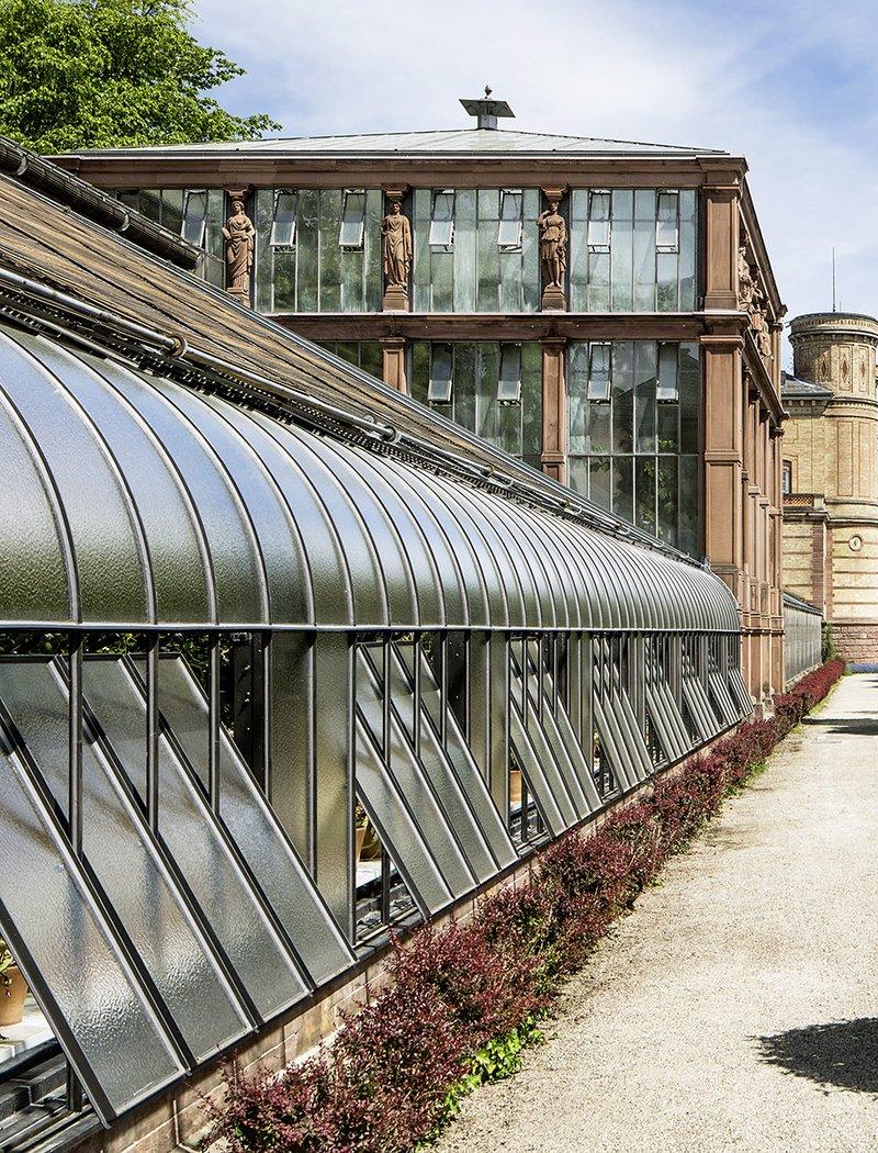Sanierung Gewächshaus Botanischer Garten, Karlsruhe