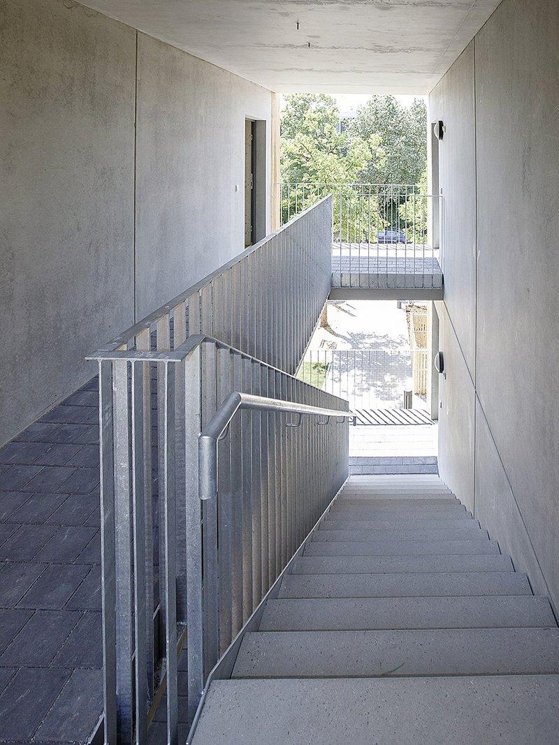 st- Ludwigsburg, Pressegespräch, Cube-Flüchtlingswohnungen, Brucknerstraße 42. Foto: Oliver Bürkle