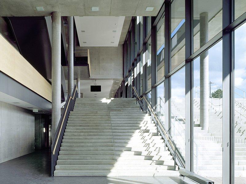 Projekt: Realschule Tuttlingen, Architekt: Aldinger+Aldinger ,Ort: Tuttlingen ©(c)Roland Halbe; Veroeffentlichung nur gegen Honorar, Urhebervermerk und Beleg / Copyrightpermission required for reproduction, Photocredit: Roland Halbe