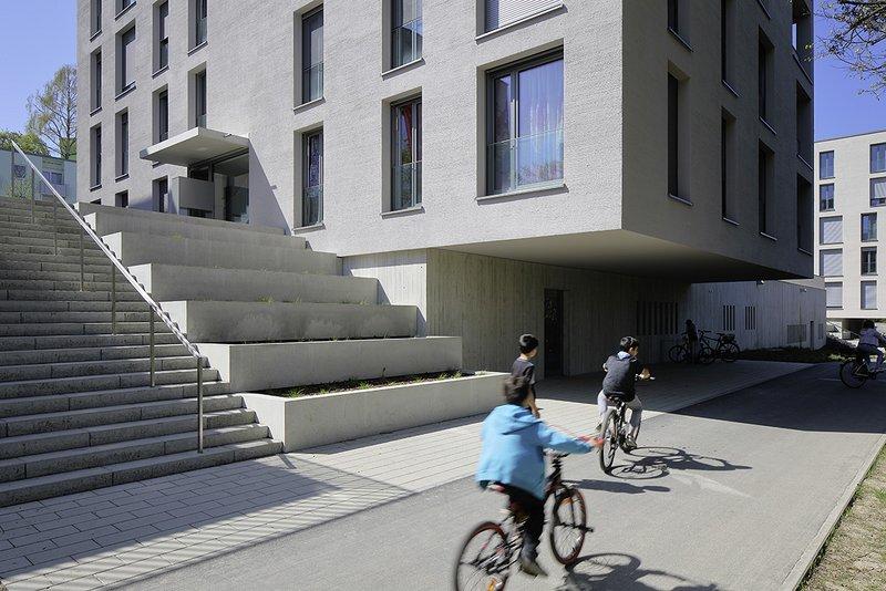Projekt: WA SOHO Architekt: Braun + Müller Architekten Ort: D-Konstanz Datum: 2017/04