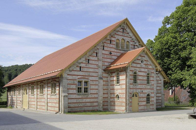 Projekt: Haupt- und Landgestüt Marbach-Alte Reithalle Architekt: ew Architekten / Architekt Eberhard Wurst Ort: D-Gomadingen-Marbach Datum: 2020/06