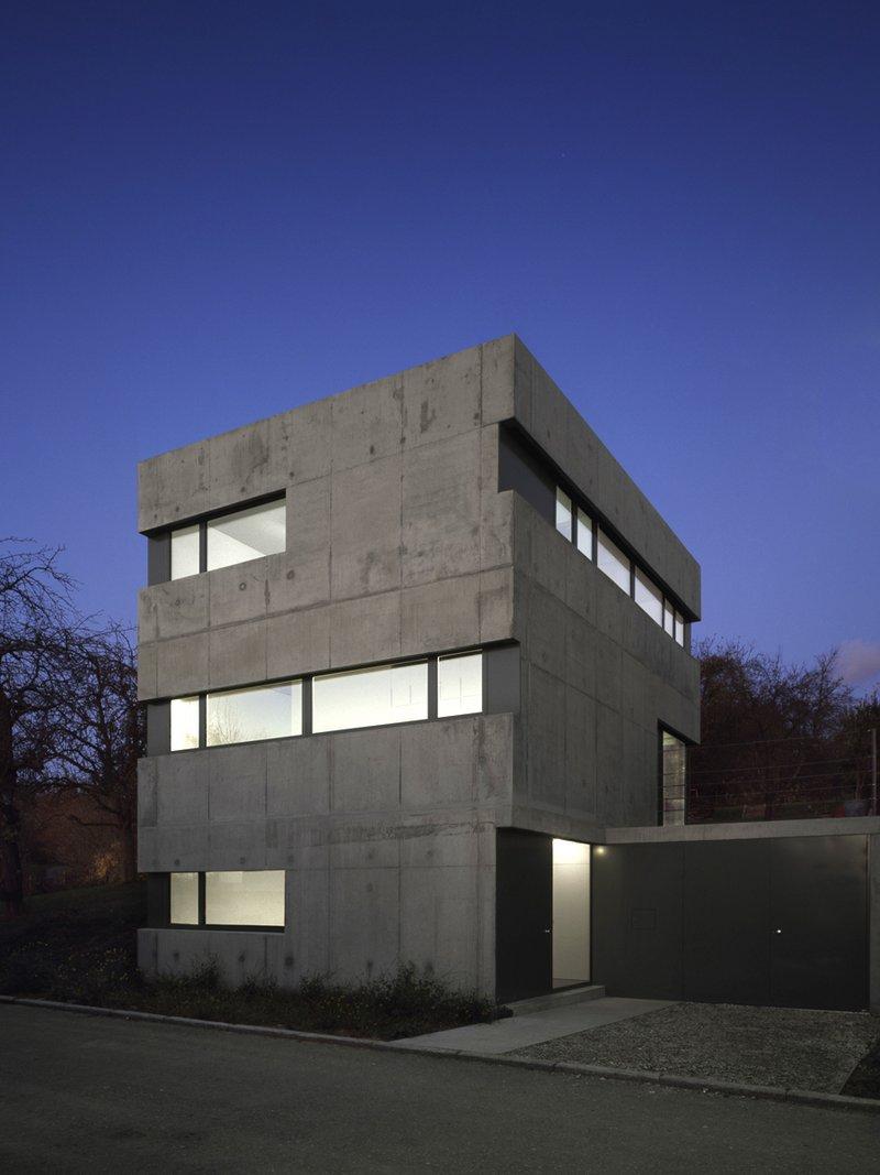Projekt: EFH KW Esslingen Architekt: Käß und Hauschildt, Esslingen