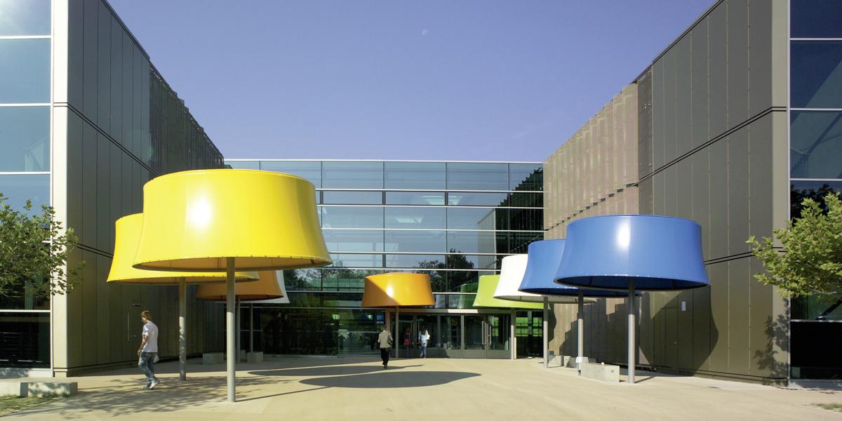 Peter-Bruckmann-Schule, Heilbronn, Haupteingang 22.09.2005