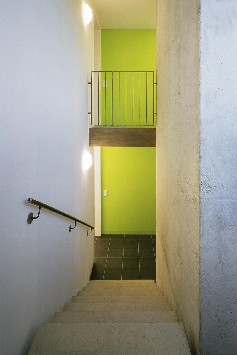 DEU, DITZINGEN, 12.2008, Mehrfamilienhaus in Ditzingen, Architekten: Steinhilber und Weiss, Fertigstellung: 2008, Bildtechnik: Dia Mittelformat [©(c)Werner Huthmacher