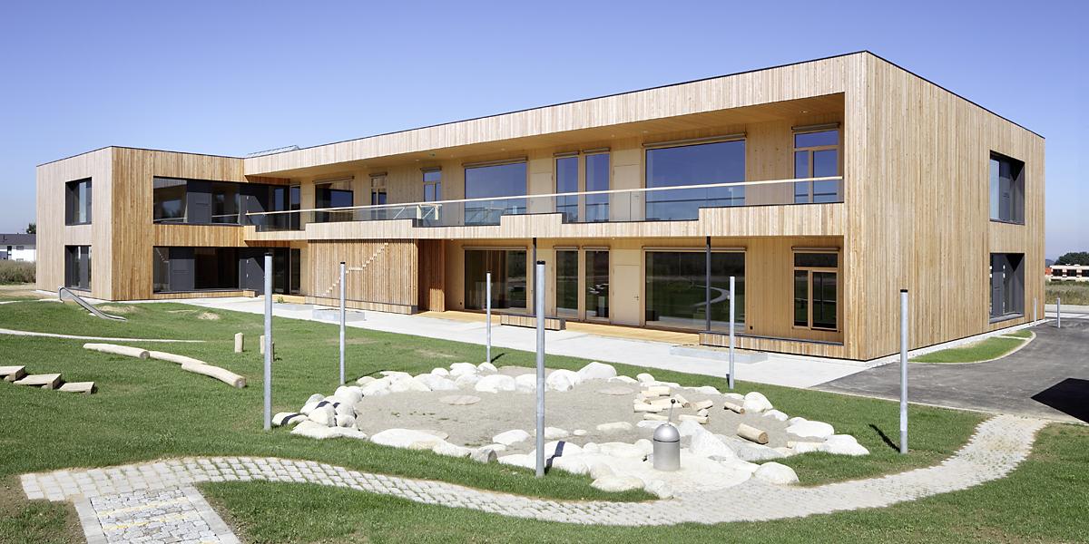 Projekt: Kinderkrippe Biberach Architekt: Johannes Kaufmann Architektur GmbH Ort: D-Biberach a.d. Riss Datum: 2012/08