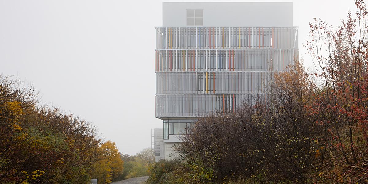 DEU, Tübingen, 10/2015, DZNE, Architekt: Nickl und Partner, Bildtechnik: Digital-KB