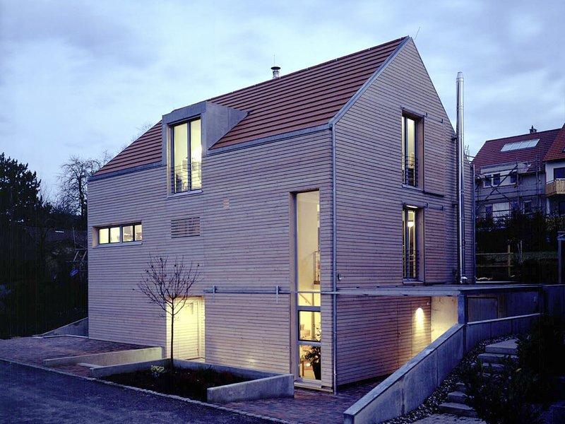 einfamilienhaus 2002 keltenstr 15 neuhausen auf den fildern b gabriele hans jrg klimek a architekten bdafuchs wacker stuttgart - Architektur Wohnhaus Fuchs Und Wacker