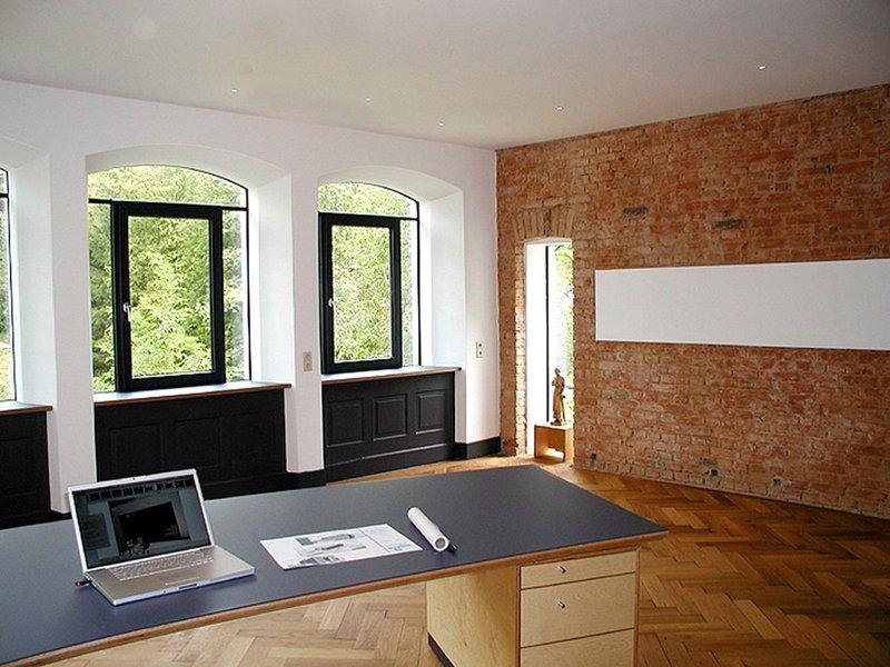 Leben, Wohnen Und Arbeiten Im Denkmalgeschützten Minimal Energie Haus;  Architekt Wolfgang Helmle, Ellwangen
