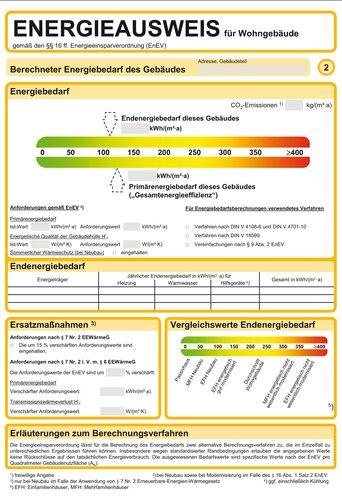 Der Energieausweis Fur Gebaude Akbw Architektenkammer Baden Wurttemberg