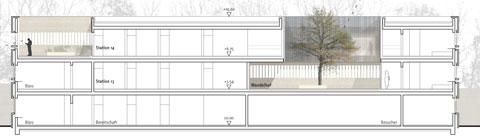 Bayer Strobel drei forensische stationen pzn akbw architektenkammer baden württemberg