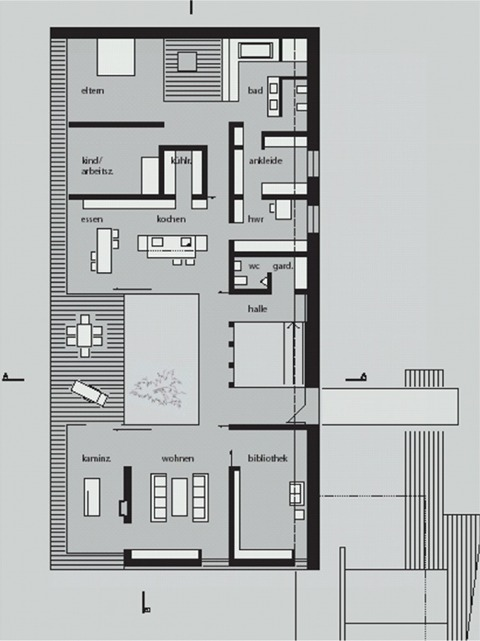 wohnhaus lock akbw architektenkammer baden w rttemberg akbw architektenkammer baden w rttemberg. Black Bedroom Furniture Sets. Home Design Ideas